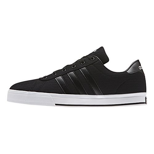 Mens adidas Daily Casual Shoe - Core Black/White 11