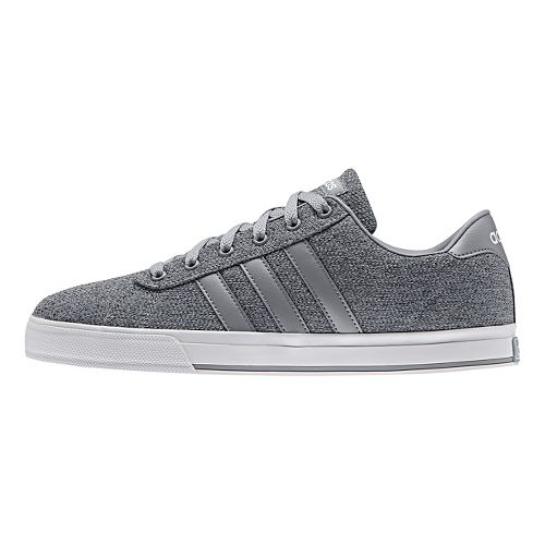 Mens adidas Daily Casual Shoe - Grey/White 10