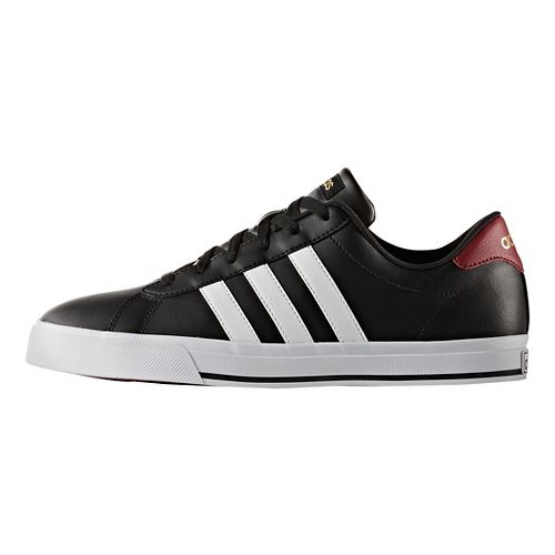 Mens adidas Daily Casual Shoe - Black/White/Gold 10