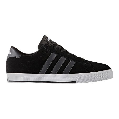 Mens adidas Daily Casual Shoe - Core Black/Grey 6.5