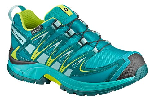 Salomon XA Pro 3D CSWP J Trail Running Shoe - Deep Peacock Blue 5Y