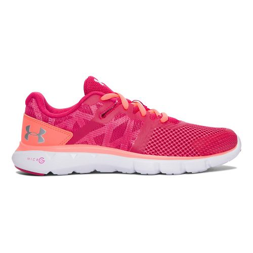 Under Armour Micro G Shift RN  Running Shoe - Honeysuckle 4Y