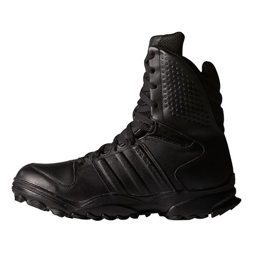 Mens adidas GSG-9.2 Hiking Shoe - Black/Black 5