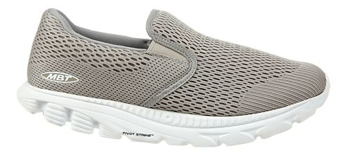Mens MBT Speed 17 Slip On Running Shoe - Taupe 9.5
