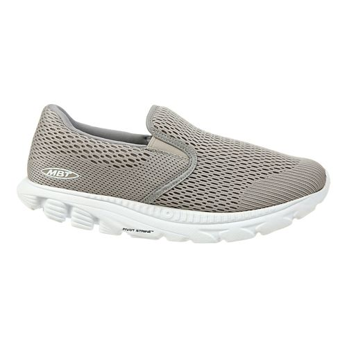 Mens MBT Speed 17 Slip On Running Shoe - Taupe 8.5