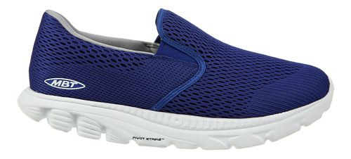 Mens MBT Speed 17 Slip On Running Shoe - Blue 9