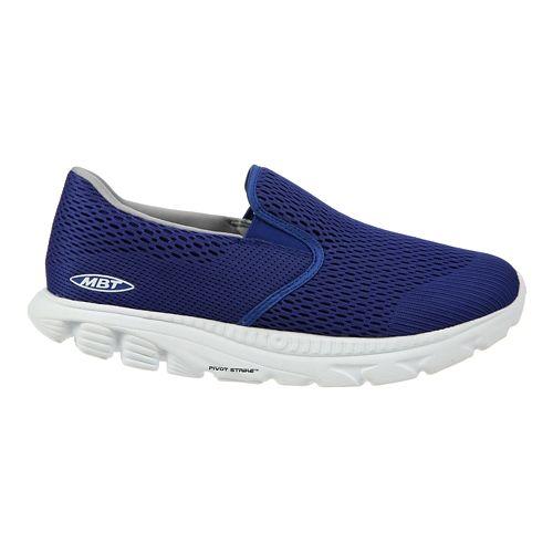 Mens MBT Speed 17 Slip On Running Shoe - Blue 10