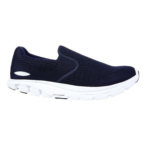 Mens MBT Speed 17 Slip On Running Shoe - Navy 7