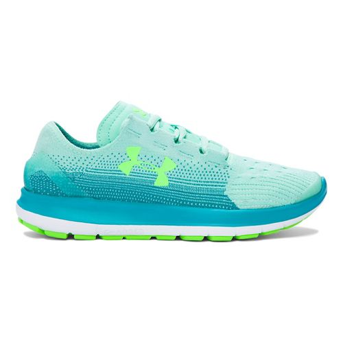 Kids Under Armour Speedform Slingride Fade Running Shoe - Crystal 5.5Y