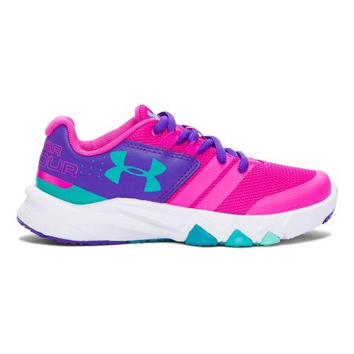 Kids Under Armour Primed Running Shoe - Lunar Pink/Purple 11C