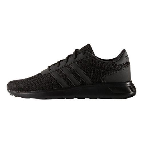 Mens adidas Lite Racer Casual Shoe - Black/Black 10.5