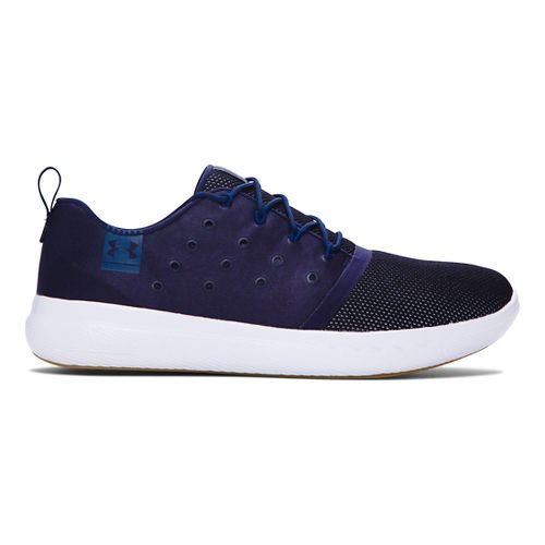 Mens Under Armour Charged 24/7 Low Casual Shoe - Midnight Navy 10.5