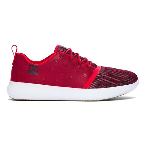 Mens Under Armour Charged 24/7 Low Casual Shoe - Red 7