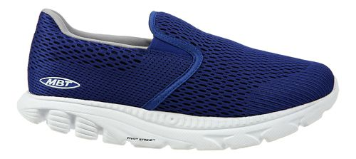 Womens MBT Speed 17 Slip On Running Shoe - Blue 5.5