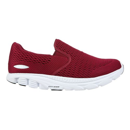 Womens MBT Speed 17 Slip On Running Shoe - Wine 6