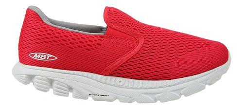 Womens MBT Speed 17 Slip On Running Shoe - Red 6