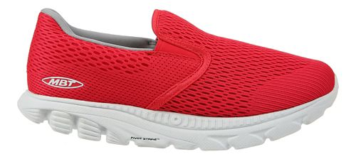 Womens MBT Speed 17 Slip On Running Shoe - Red 7.5