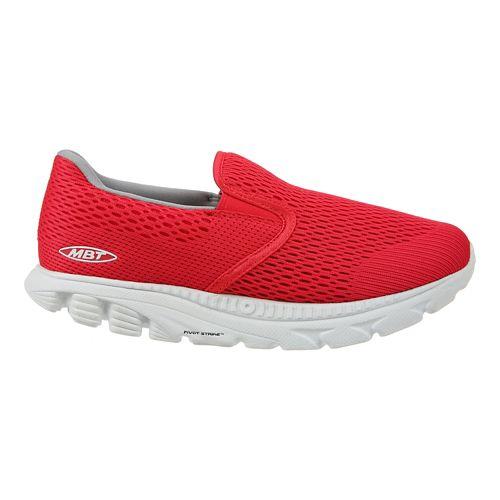 Womens MBT Speed 17 Slip On Running Shoe - Red 9