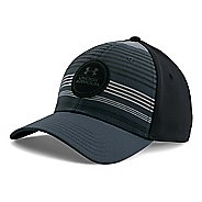 Mens Under Armour Striped Low Crown Cap Headwear