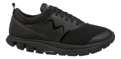 Womens MBT Speed 17 Lace Up Running Shoe - Black 6.5