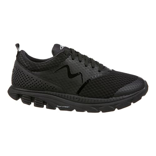 Womens MBT Speed 17 Lace Up Running Shoe - Black 7.5