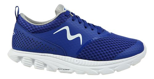 Womens MBT Speed 17 Lace Up Running Shoe - Blue 6.5