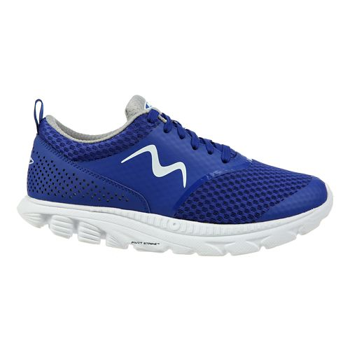 Womens MBT Speed 17 Lace Up Running Shoe - Blue 8
