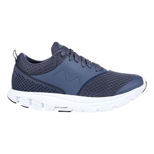 Womens MBT Speed 17 Lace Up Running Shoe - Navy 6.5