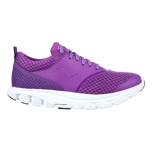 Womens MBT Speed 17 Lace Up Running Shoe - Purple 8