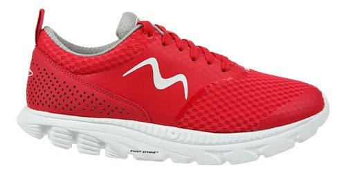 Womens MBT Speed 17 Lace Up Running Shoe - Red 9.5