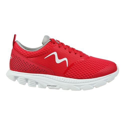 Womens MBT Speed 17 Lace Up Running Shoe - Red 8.5