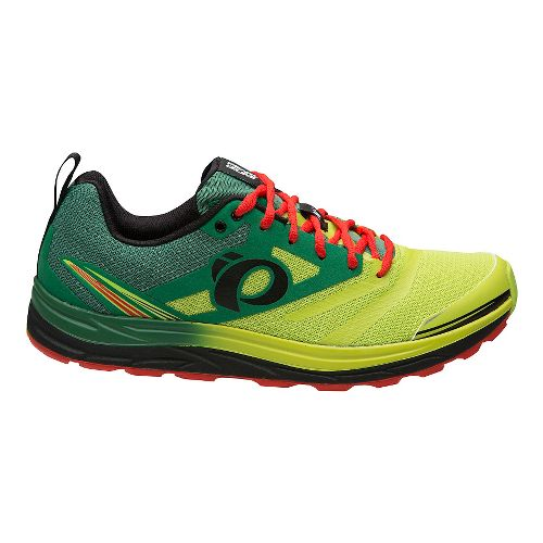 Mens Pearl Izumi Em Trail N 2 V3 Running Shoe - Amazon Lime 7