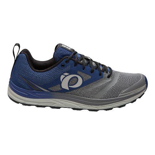 Mens Pearl Izumi Em Trail N 2 V3 Running Shoe - Blue depths/Pearl 11