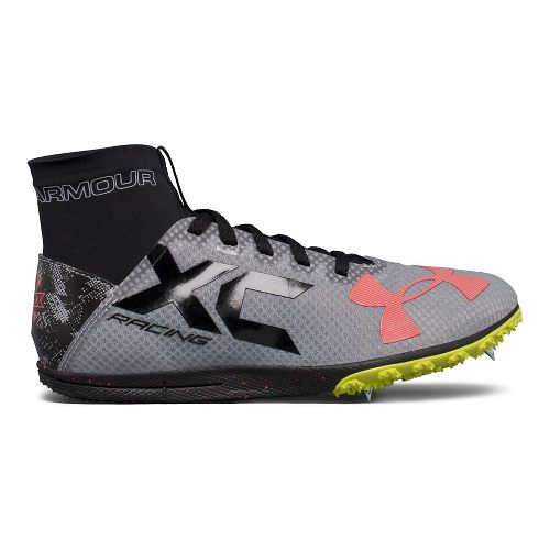 Under Armour Bandit XC Spike Track and Field Shoe - Steel/Black 10.5