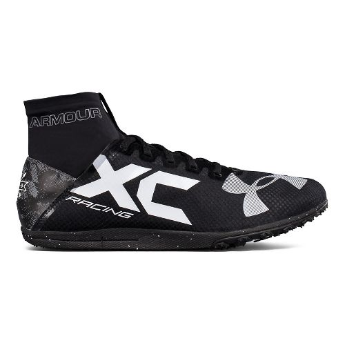 Under Armour Bandit XC Spikeless Track and Field Shoe - Black/Graphite 7.5