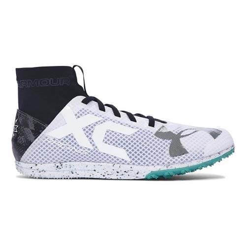 Under Armour Bandit XC Spikeless Racing Shoe - White/Black 9