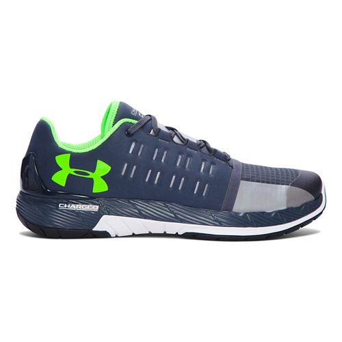 Mens Under Armour Charged Core Cross Training Shoe - Stealth Grey/White 15