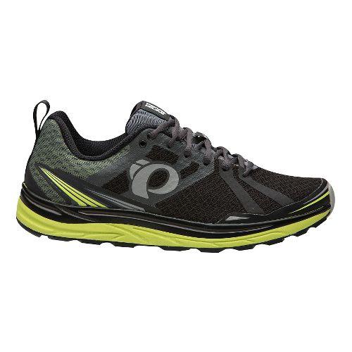 Mens Pearl Izumi Em Trail M 2 V3 Running Shoe - Black/Shadow Grey 10