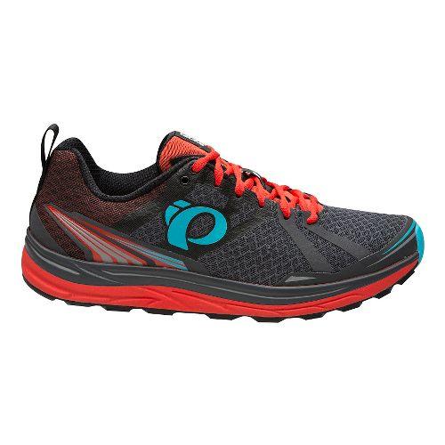 Mens Pearl Izumi Em Trail M 2 V3 Running Shoe - Grey/Grenadine 12.5