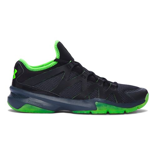 Mens Under Armour Charged Phenom 2 Cross Training Shoe - Stealth Grey/Black 12
