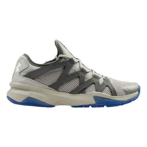 Mens Under Armour Charged Phenom 2 Cross Training Shoe - Aluminum/Graphite 12