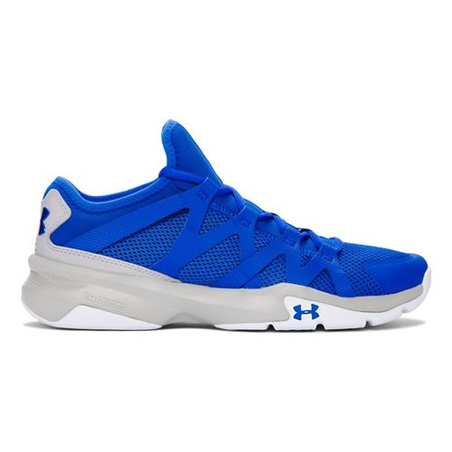 Mens Under Armour Charged Phenom 2 Cross Training Shoe - Ultra Blue/White 10.5