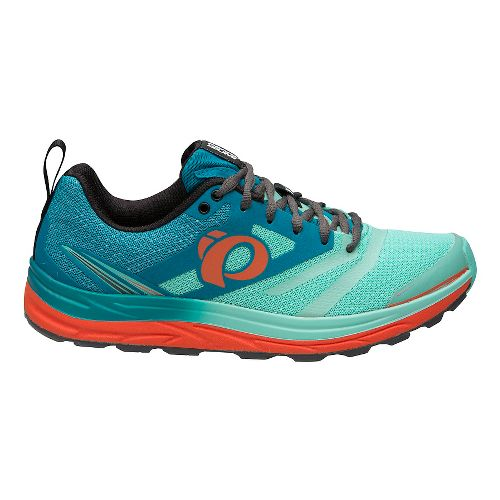 Womens Pearl Izumi W Em Trail N 2 V3 Running Shoe - Enamel Aqua Mint ...