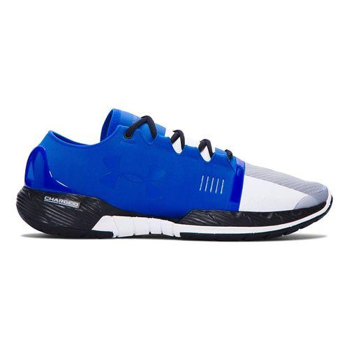 Mens Under Armour Speedform Amp Cross Training Shoe - Ultra Blue/White 12