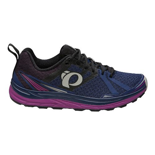 Womens Pearl Izumi Em Trail M 2 V3 Running Shoe - Indigo Black 9