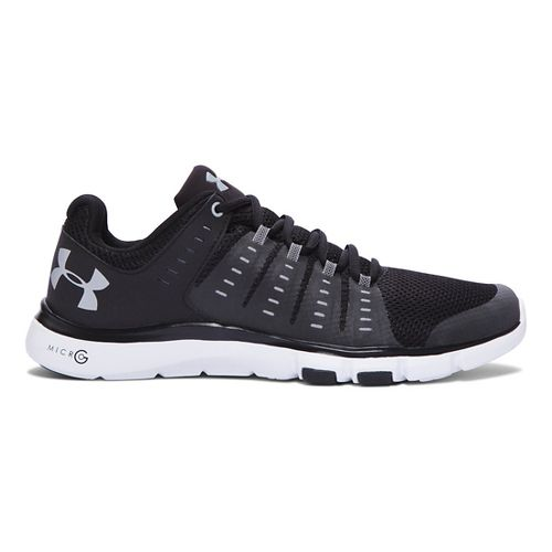 Mens Under Armour Micro G Limitless TR 2 Cross Training Shoe - Black/White 14