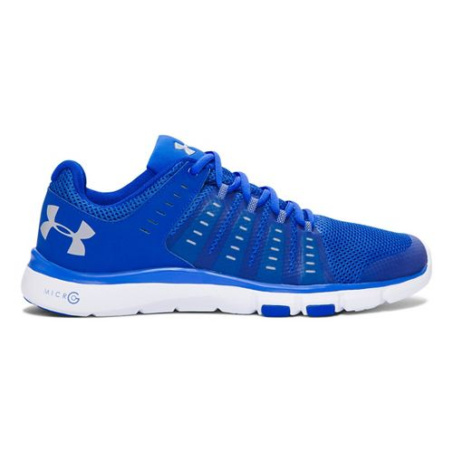 Mens Under Armour Micro G Limitless TR 2 Cross Training Shoe - Ultra Blue/White 10.5 ...