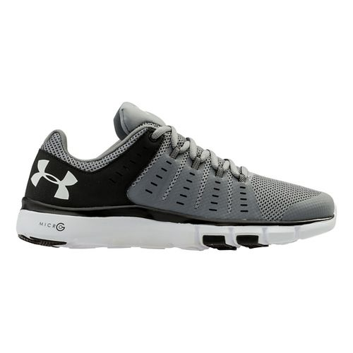 Mens Under Armour Micro G Limitless TR 2 TM Cross Training Shoe - Steel/Black 7 ...