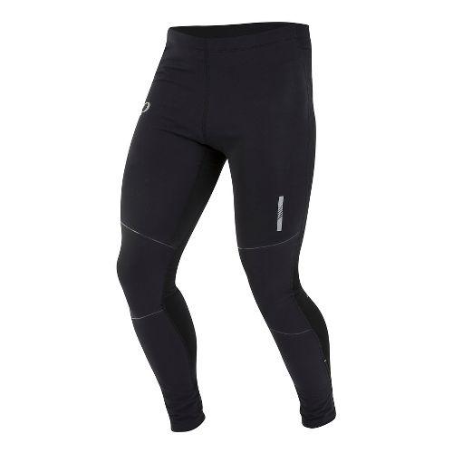 Mens Pearl Izumi Pursuit Softshell Tight Tights & Leggings Pants - Black XL