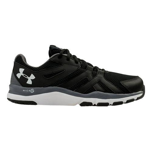 Mens Under Armour Strive 6 Cross Training Shoe - Black/Graphite 7